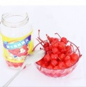 canned red cherry in light syrup - product's photo