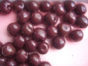 canned purple cherry in heavy syrup - product's photo