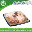 canned food brand steamed pork - product's photo