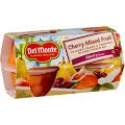 case of 6 del monte light syrup cherry mixed fruit cups - product's photo