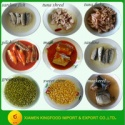 canned food list of canned vegetables and canned fish - product's photo