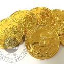 chocolate coin in bag - product's photo