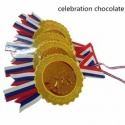 individual packed gold coin chocolate for celebration - product's photo