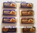 individual dark biscuit milk compound chocolate bar snacks  - product's photo