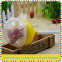 candy toys transparent plastic lollipop for children - product's photo
