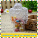 high quality mini clear plastic mummy toys with candy - product's photo