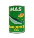 canned food canned sardines in oil - product's photo