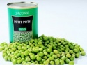 ifs/brc organic canned green peas - product's photo