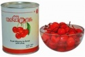 canned sour cherry - product's photo
