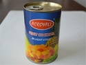 canned fruit salad in syrup  - product's photo