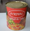 canned fruit salad in natural juice  - product's photo
