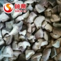 frozen cutting quarter shiitake mushrooms - product's photo