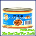 canned food fried young chicken - product's photo
