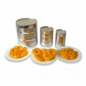 canned yellow peaches slices - product's photo