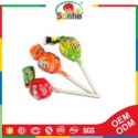 bubble gum filled candy lollipop - product's photo
