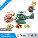 hot new products for 2015 pull wire helicopter candy toy , toy with candy - product's photo