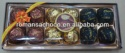 12pcs heart compound chocolate with peanut 150g - product's photo