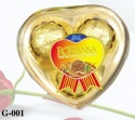 heart compound peanut chocolate 38g - product's photo