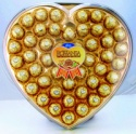 46pcs heart compound chocolate with peanut 570g - product's photo