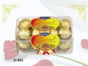 16pcs double decker compound peanut chocolate 200g - product's photo