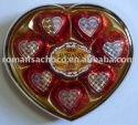 8pcs heart chocolate - product's photo