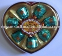 7.pcs heart chocolate - product's photo