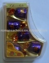 5pcs milk chocolate in socks box - product's photo