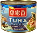 canned tuna chunk in soybeans oil - product's photo