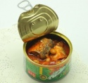 185g canned sardine in tomato sauce - product's photo