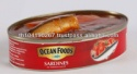 canned sardines in tomato sauce (215 g)  - product's photo
