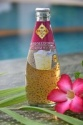 basil seed drink with honey in glass bottle (290ml) - product's photo
