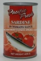 canned sardines in tomato sauce  - product's photo