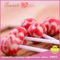 fruit flavor hard candy lollipop - product's photo