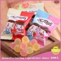 crystal fruit flavor colorful soft candy with sugar coated - product's photo