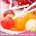 fruit flavor hard lollipop candy - product's photo