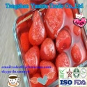 canned strawberry in light syrup  - product's photo