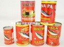 canned sardines in brine, tomato sauce, oil - product's photo