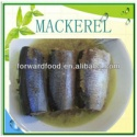 mackerel canned - product's photo