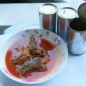 sardines in oil - product's photo