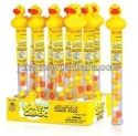plastic yellow duck candy tube candy toy - product's photo