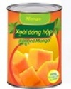 vietnam canned fruits slice mango - product's photo