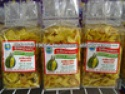 thai durian chips fried fruit snack - product's photo