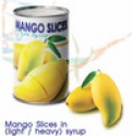 thai mango slices canned in syrup - product's photo