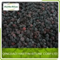 dark red or black frozen blackberry - product's photo