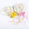 swirl marshmallow lollipop - product's photo