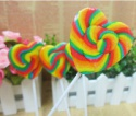 custom lollipop stick heart  - product's photo