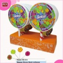 sweet flat lollipop candy - product's photo