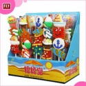 sugar coated colorful gelatin lollipops - product's photo