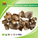 organic dried grey oyster mushroom - product's photo