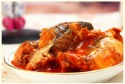 canned fish mackerel in tomato sauce - product's photo